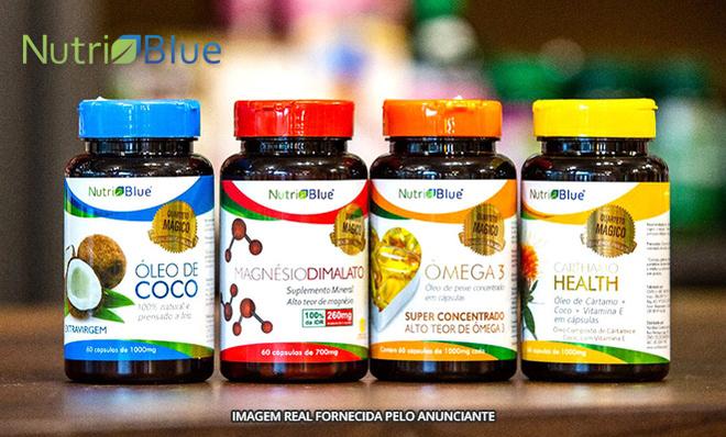 8bbfc8d9e Quarteto mágico Nutriblue  óleo de coco